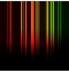 Vertical glowing lines background vector