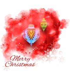 Merry christmas holiday background vector