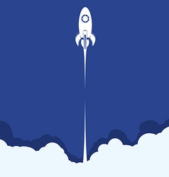 Spaceship design vector