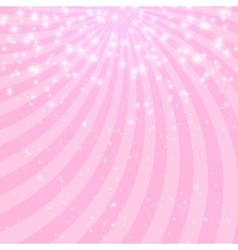 Abstract Princess Shiny Star Background vector image