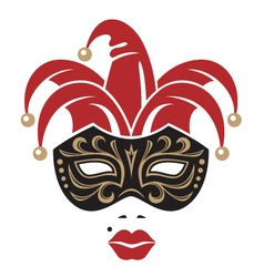 carnival mask image vector image