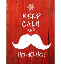 Keep calm and hohoho vector