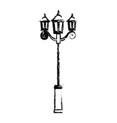 street lamp icon image vector image vector image