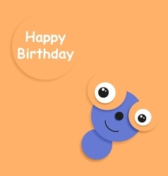 Card to birthday vector