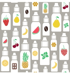 Seamless pattern of different flavor vector