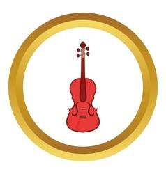 Cello icon vector