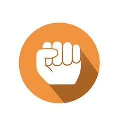 Hold gesture vector image vector image