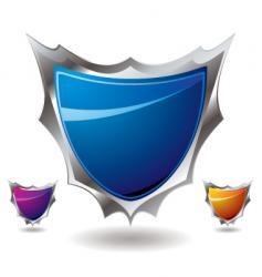 shield sharp vector image vector image