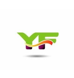 YF Logo vector image vector image