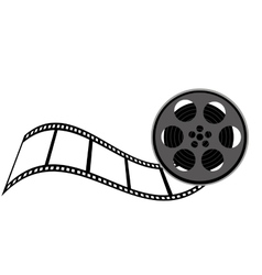 tape film movie isolated icon vector image