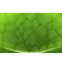 A green stonewall vector