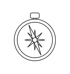 Compass navigation position vector