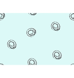 Seamless pattern Hand drawn splashes background vector image vector image