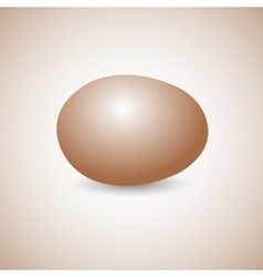 Icon egg vector