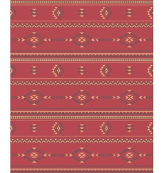 Native americans fabric vector
