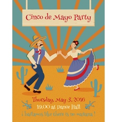 Cinco de mayo poster vector