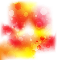 Orange abstract background vector image vector image