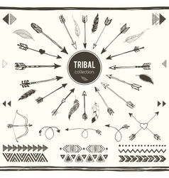 Tribal elements collection vector