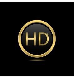 Golden hd vector