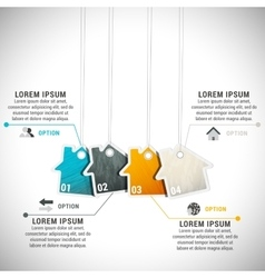 Business Infographic creative design vector image vector image