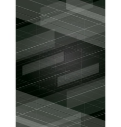 Dark tech minimal background vector