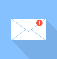 Envelope e-mail icon notification letter vector