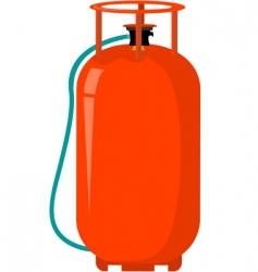 Gas cylinder vector
