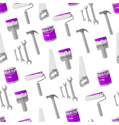 House remodel tools seamless background vector