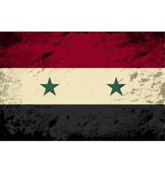 Syrian flag grunge background vector