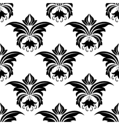 Seamless floral arabesque pattern vector
