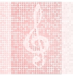 Background treble clef vector