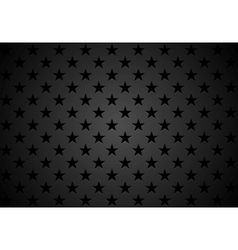 Black stars abstract background vector