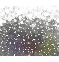 falling sparkling transparent glitter vector image vector image