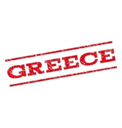 Greece Watermark Stamp vector image vector image