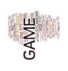 The best game site recomended text background vector