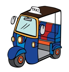 Tuktuk vector