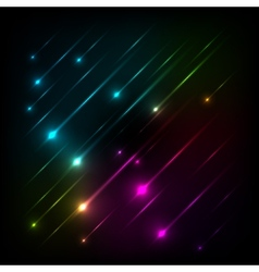 Abstract colorful glow background vector