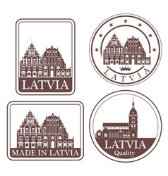 Latvia vector