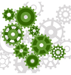 abstract mechanism vector image
