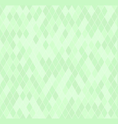 Green diamond pattern seamless vector
