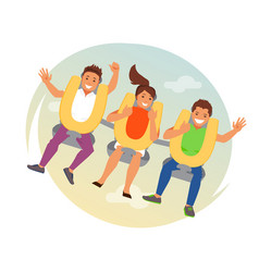 People on the attraction vector
