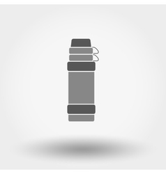 Thermos icon vector image