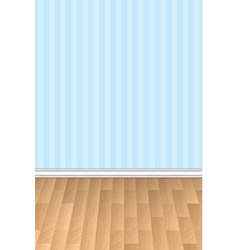 wall and floor background vector image vector image