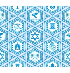 israel design seamless vector image