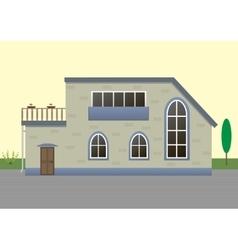 Modern house vector