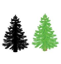 New year tree2 vector