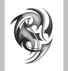 Tribal tattoo design vector