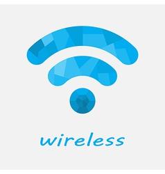 wireless vector image vector image