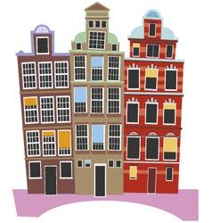 Oland house vector