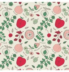 fruit wallpaper background vector image
